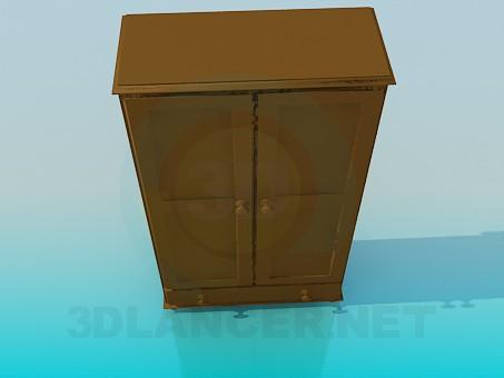 3d модель Небольшой гардероб – превью