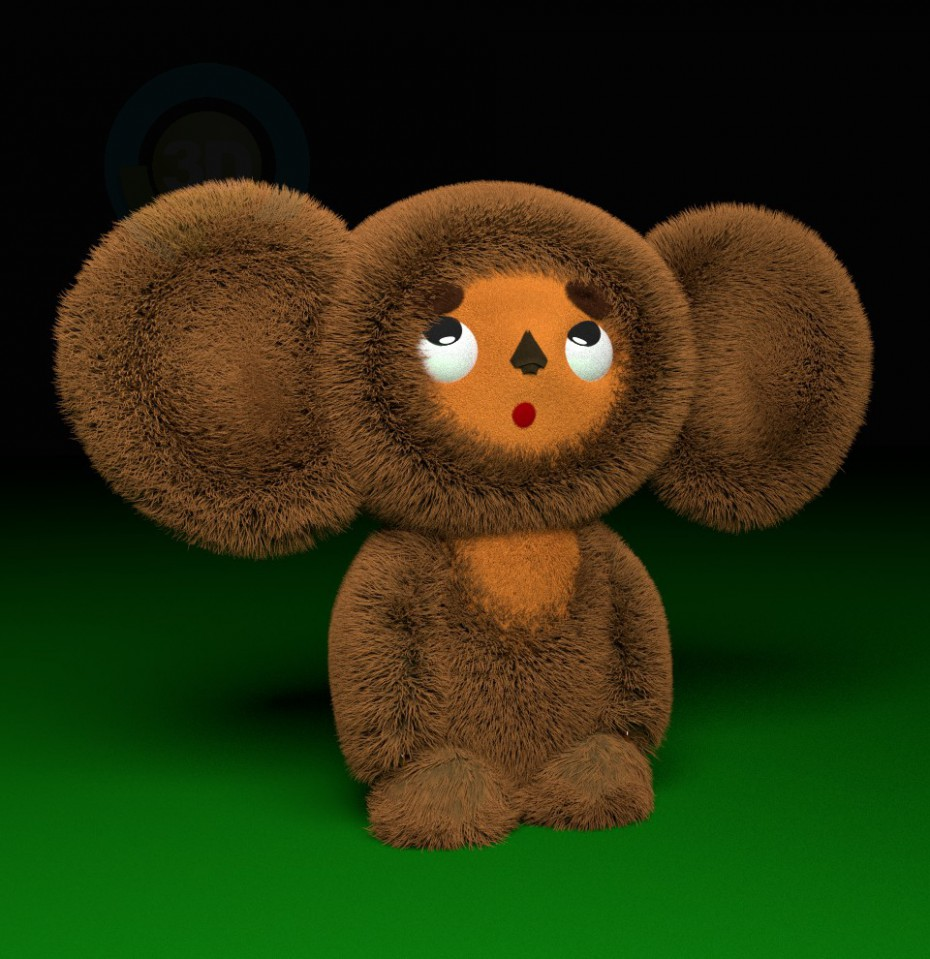 3d model Soft toy - preview