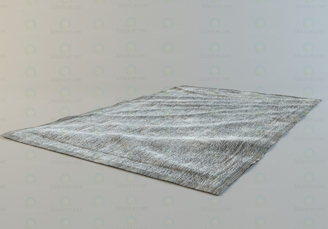 3d model The carpet with a small pile - preview