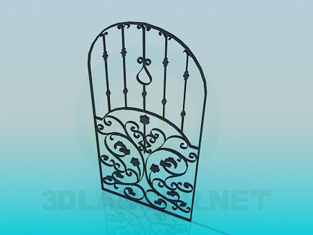 3d model Gate - preview