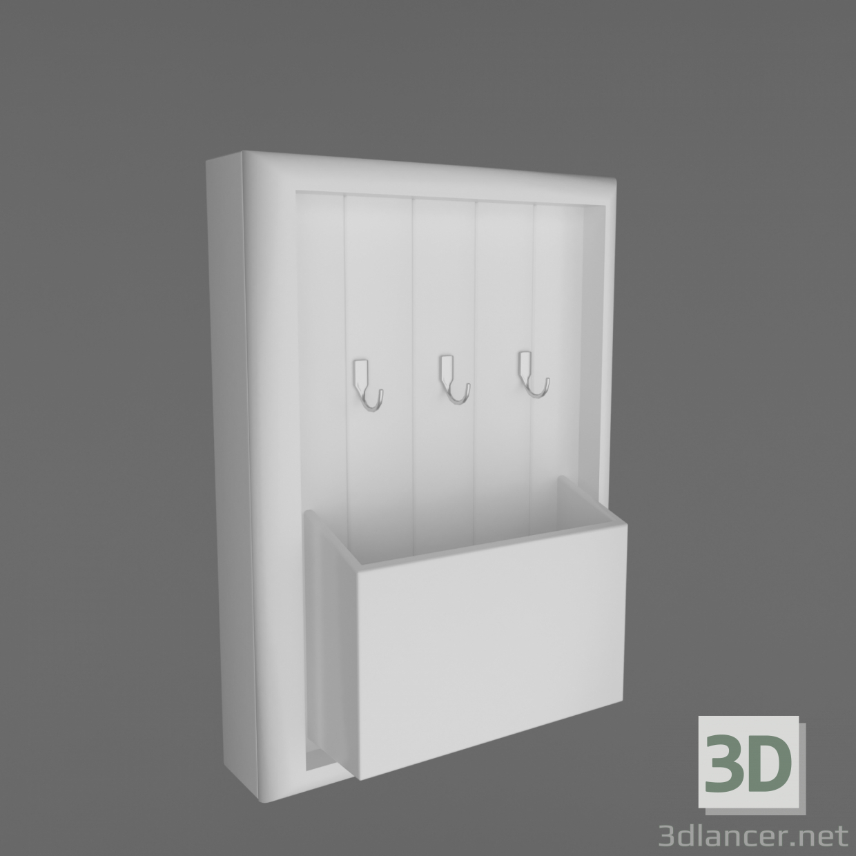 3d model Housekeeper - preview