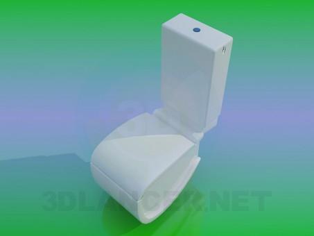 modello 3D WC - anteprima