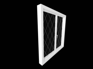 The window is plastic