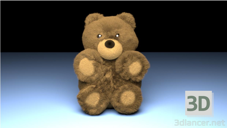 3d model Bear - preview