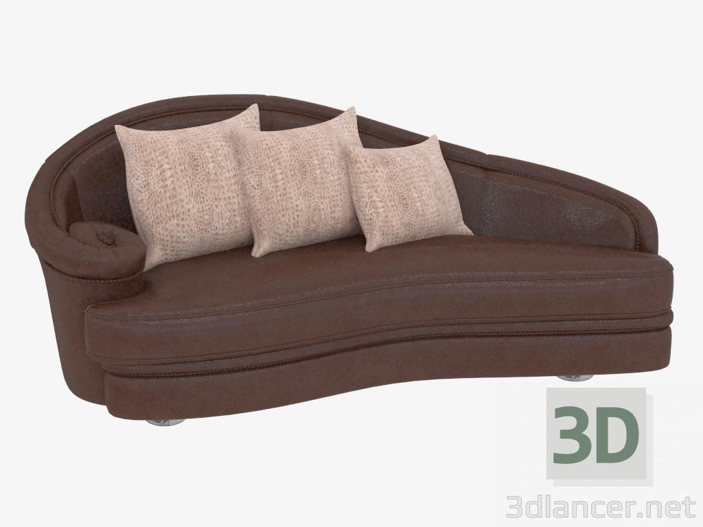 3d modell ledersofa vom hersteller turri milo stil art deko id 19473. Black Bedroom Furniture Sets. Home Design Ideas