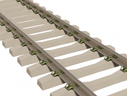 Fixation de rail type w30