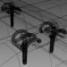 3d Rail fastening type w30 model buy - render