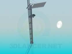 Post with speakerphone