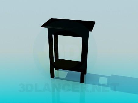 descarga gratuita de 3D modelado modelo La mesa alta
