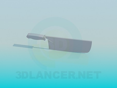 3d model Kitchen knife - preview