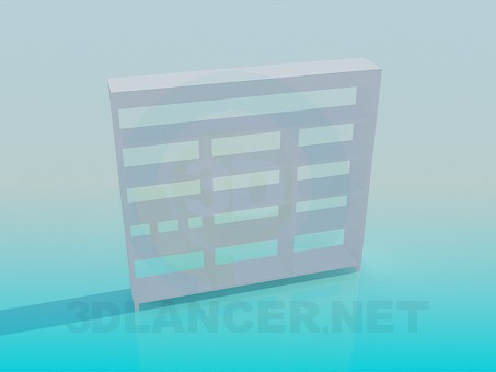 3d model Book rack - preview