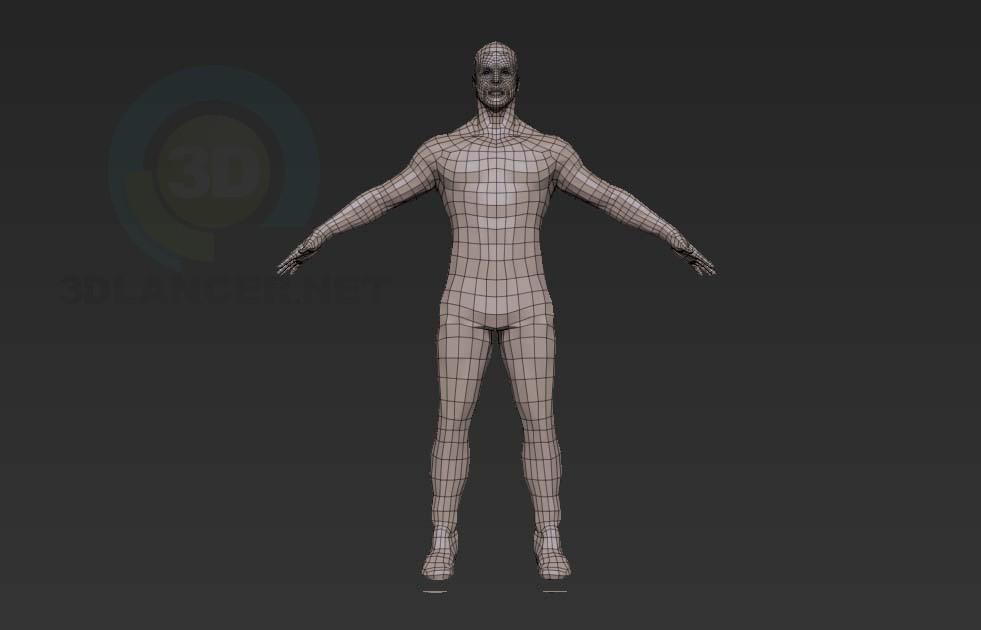 3d модель Hero – превью