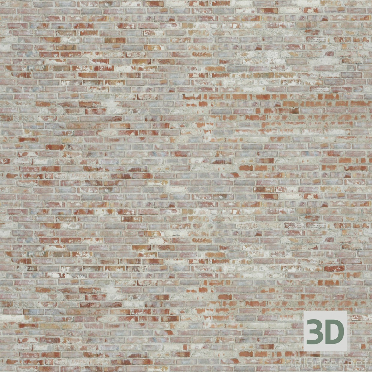 Texture old brick beige free download - image