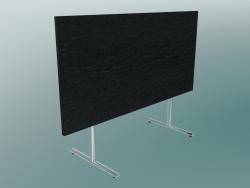 Table rectangulaire rabattable à pieds en T (1500x750mm)