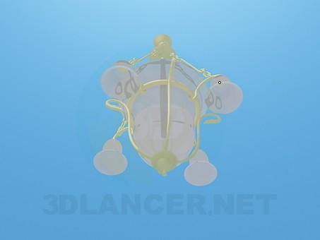 modelo 3D Araña-campana - escuchar