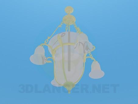 3d модель Люстра - колокольчик – превью