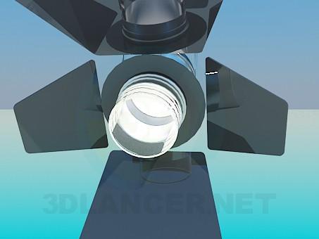 3d model Spotlight - preview