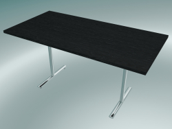 Table Flip-top rectangulaire en T (1500x750mm)