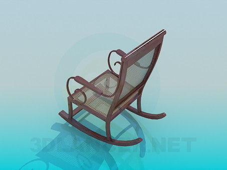 3d model Rocking chair - preview