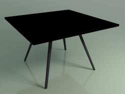 Table carrée 5413 (H 74 - 119x119 cm, stratifié Fenix F02, V44)