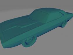 Dodge Challenger RT 440 - Printable toy