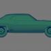 3d Dodge Challenger RT 440 - Printable toy model buy - render