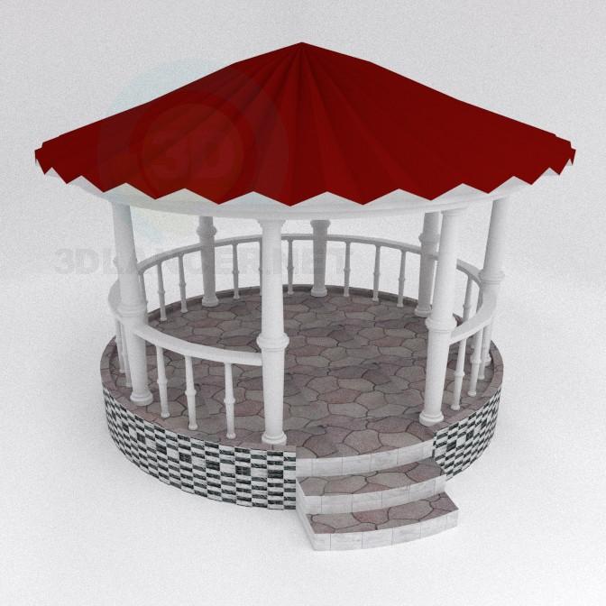3d моделювання Альтанка модель завантажити безкоштовно