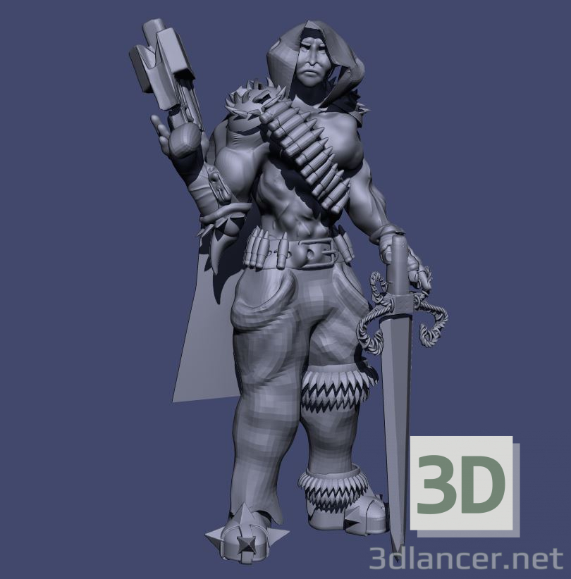 3d The emperor model buy - render