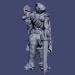 3 डी सम्राट मॉडल खरीद - रेंडर