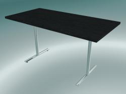 Table Flip-top rectangulaire en T (1400x700mm)