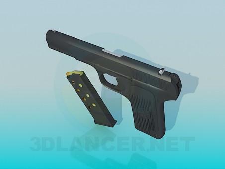 modelo 3D Pistola ТТ - escuchar