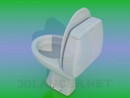 3d model WC - preview
