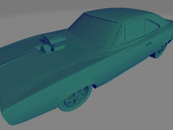 Dodge Charger RT 70 - Printable toy