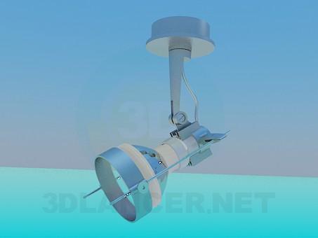 3d модель Точечный светильник – превью