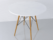 Round table EAMES DSW D80