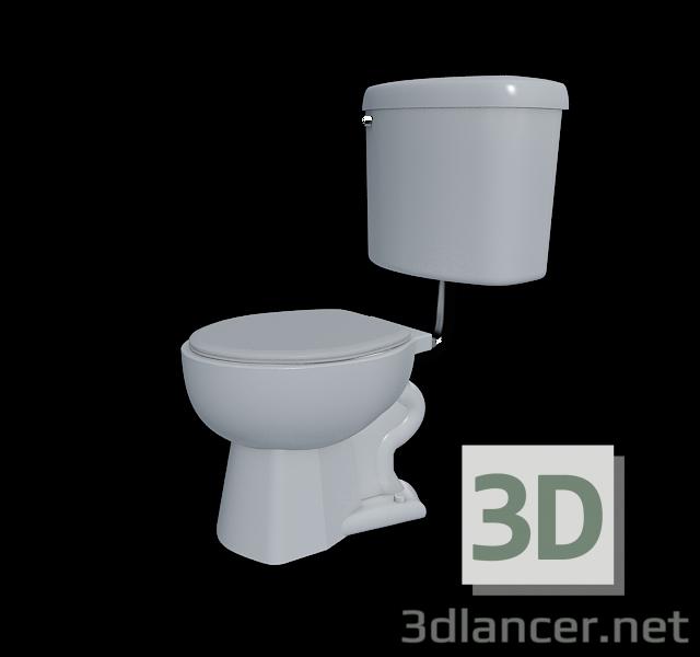 3 डी मॉडल शौचालय का कटोरा - पूर्वावलोकन