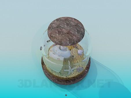 modelo 3D Souvenirs Marine - escuchar