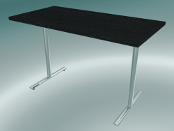 Table flip-top rectangulaire en T (1200x600mm)