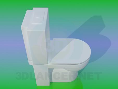 modelo 3D WC - escuchar