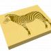 """3d model Panel """"Zebra"""" - preview"""