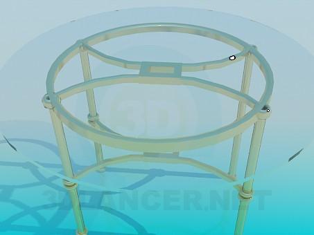 3d модель Барный столик – превью