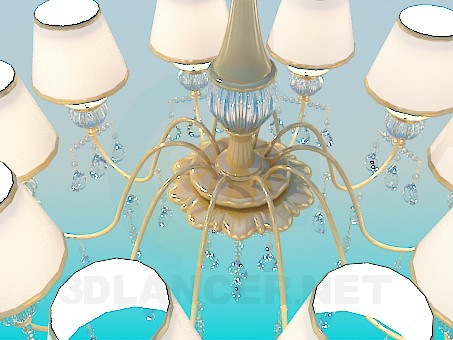 3d model Classic chandelier - preview