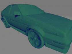 Toyota Corola GT-S - Printable toy