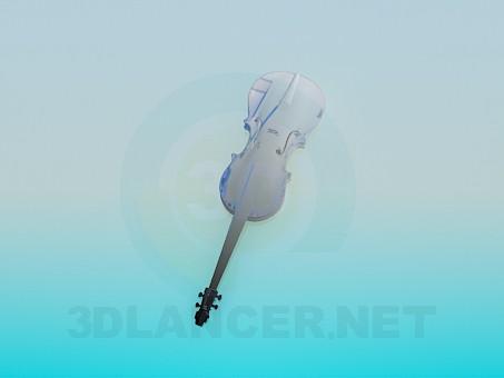 3d model Violin - preview