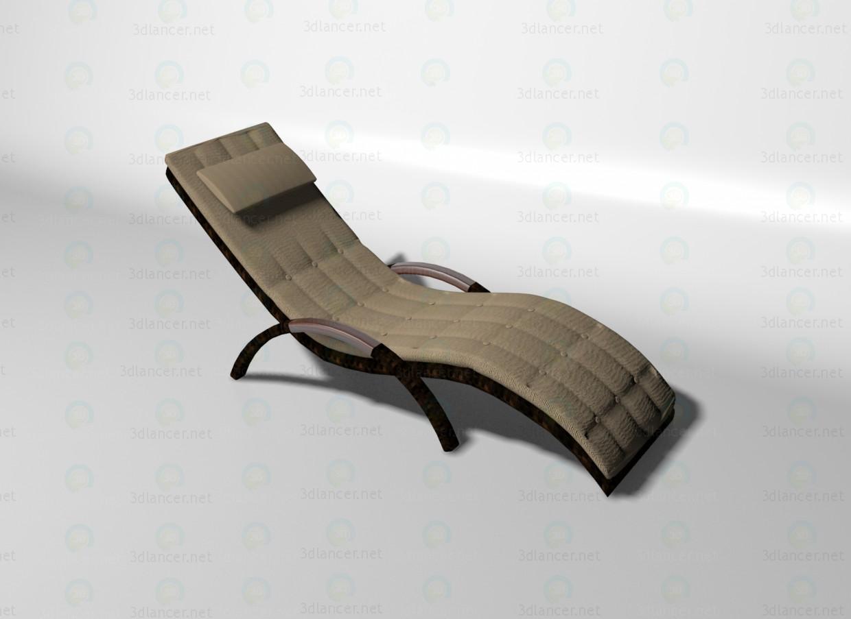 3d модель Wava шезлонг – превью