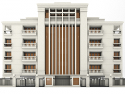 5 этажное здание