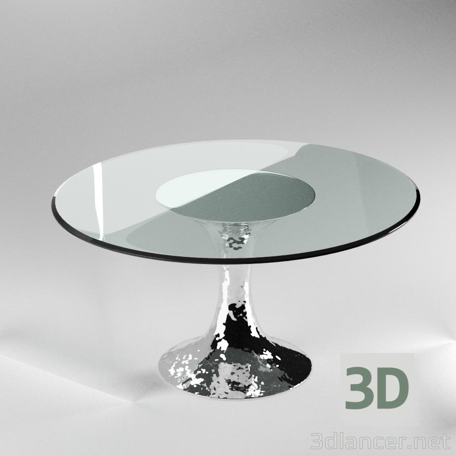 3d model DAKOTA DINNING TABLE - preview
