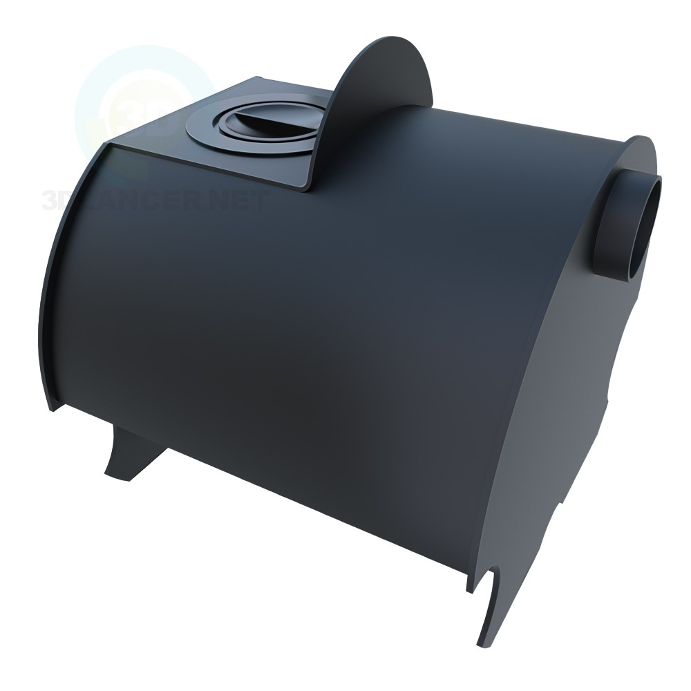 3d model Oven Matrena - preview
