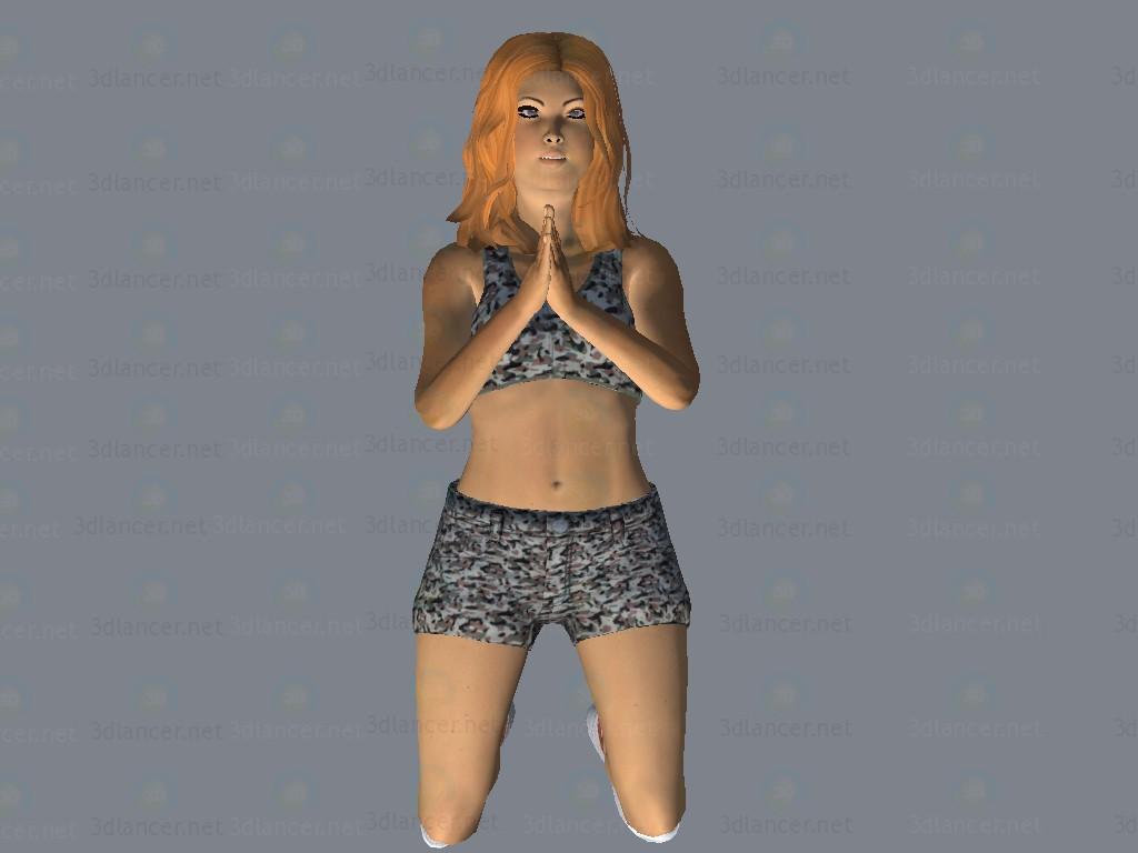 3d model Sindi - preview