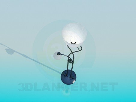 3d model Standard-lamp - preview